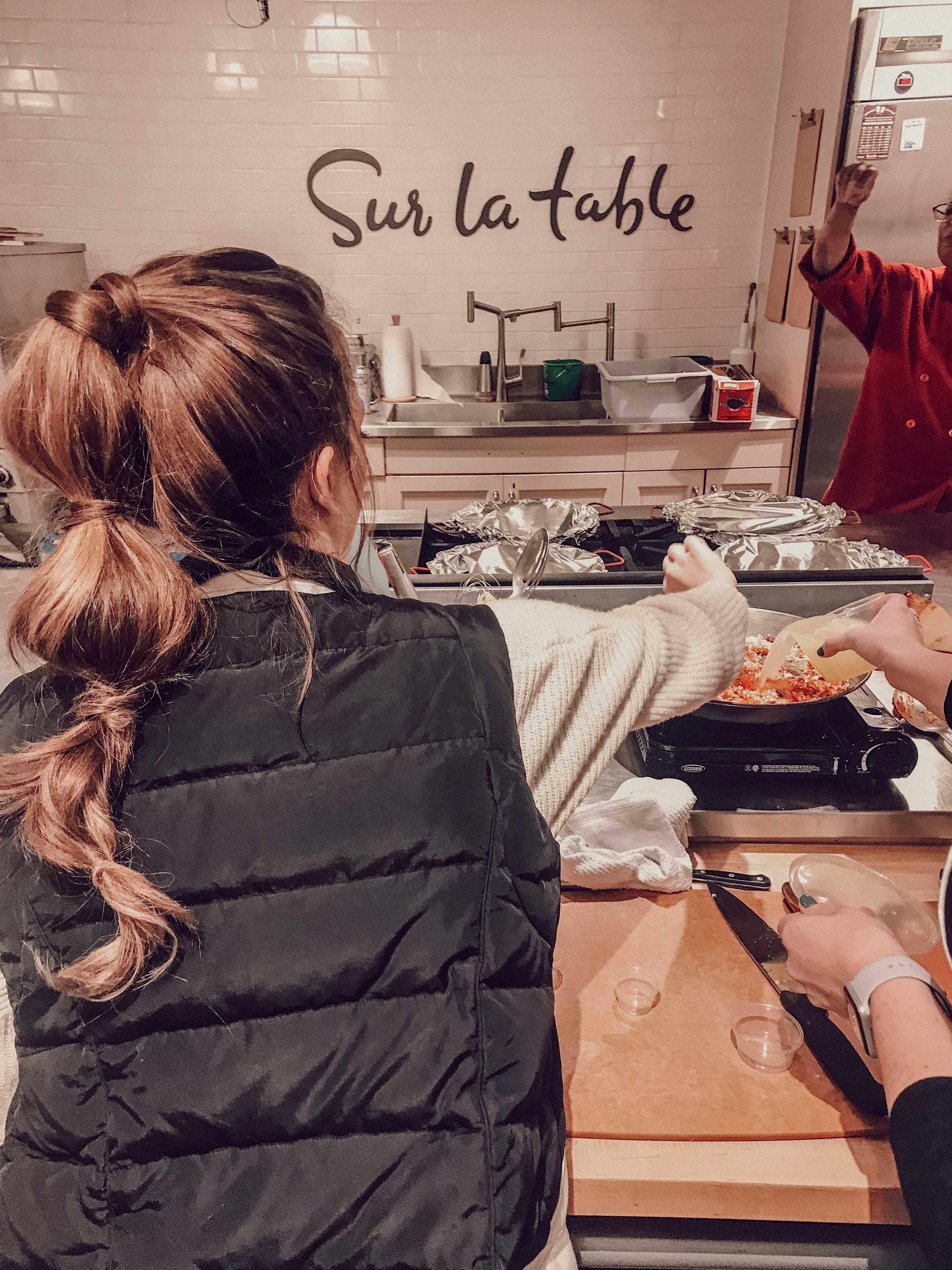 Sur La Table Cooking Class + 6 Date Night Ideas
